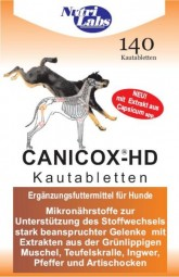 NutriLabs Canicox-HD, 140 Kautabletten (350 g)