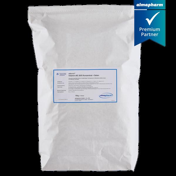 almapharm allbovin Vitamin AE 20/5-Konzentrat + Selen,  15 kg