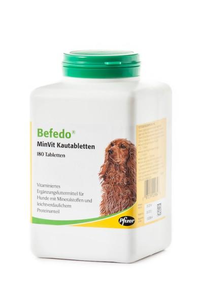 zoetis Befedo MinVit Kautabletten, 180 Stück
