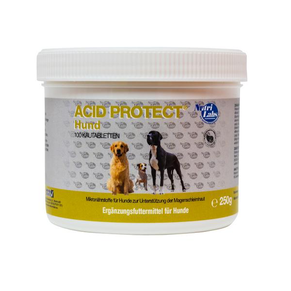 NutriLabs Acid Protect Dog, 100 Kautabletten (250 g)