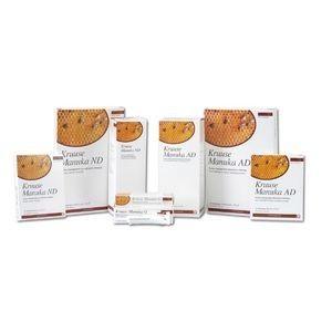 Manuka-Honig Wundauflagen AD 5x5 cm klebender Wundverband, 10 Stück