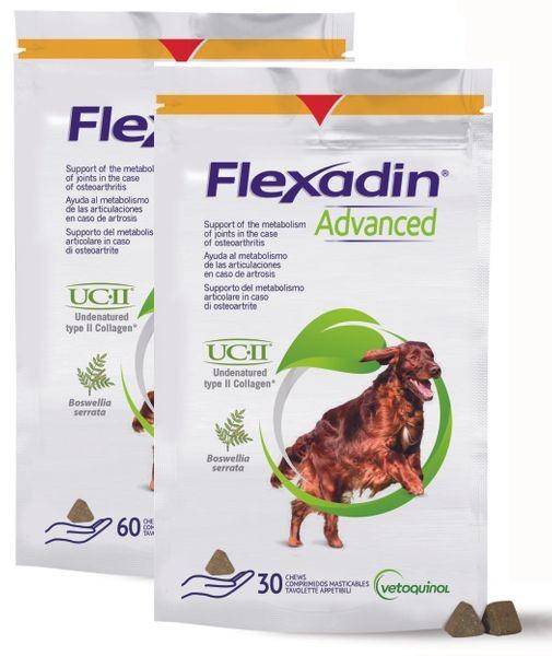 Vetoquinol Flexadin Advanced, 60 Chews