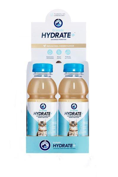 Oralade® Hydrate+ Katze, 6 x 330 ml