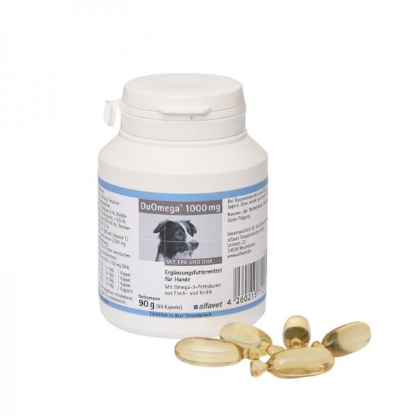 alfavet DuOmega 1000 mg, 90 g (60 Kapseln)