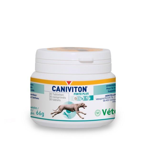 Vetoquinol Caniviton Forte plus, 30 Tabletten