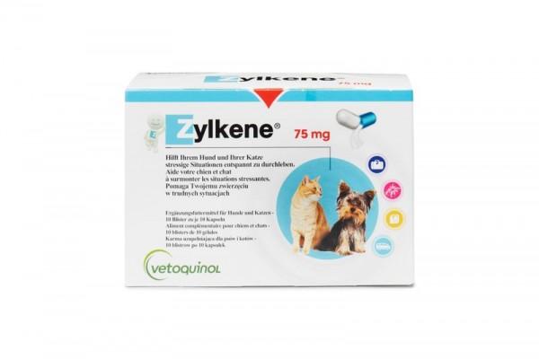 Zylkéne 75 mg, Blister á 10 Kapseln