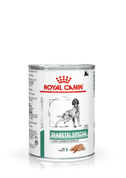 Royal Canin canine Diabetic Special Low Carbohydrate, 12 x 410 g