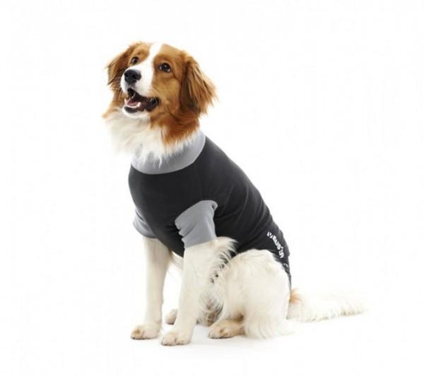 BUSTER Body Suit, Hund, black/grey, 76 cm, XXXL