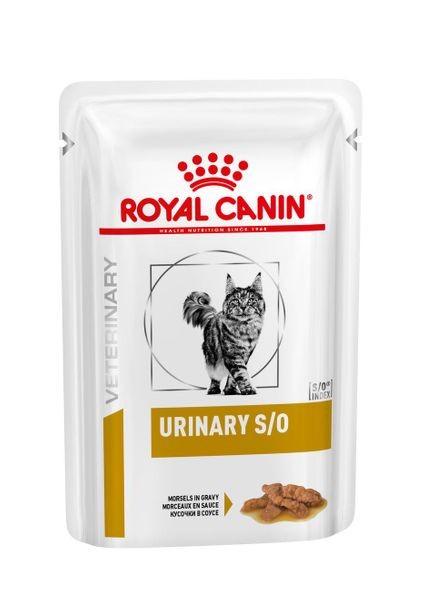 Royal Canin feline Urinary S/O Frischebeutel, Häppchen in Soße, 12 x 85 g