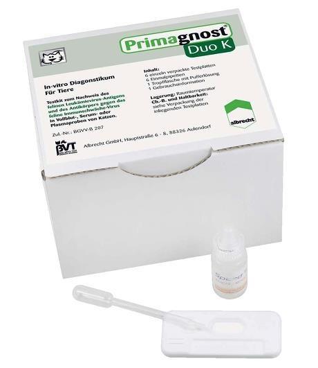 Primagnost® Duo K (FeLV und FIV-Test)